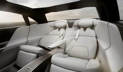 Lucid Air intérieur arrière