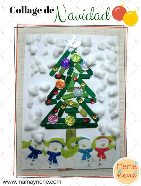 COLLAGE-ARBOL-NAVIDAD-MAMAYNENE-KIDS-CHRISTMAS-TREE