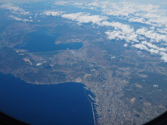 Марсель - вид с самолета (Marseille - view from the plane)