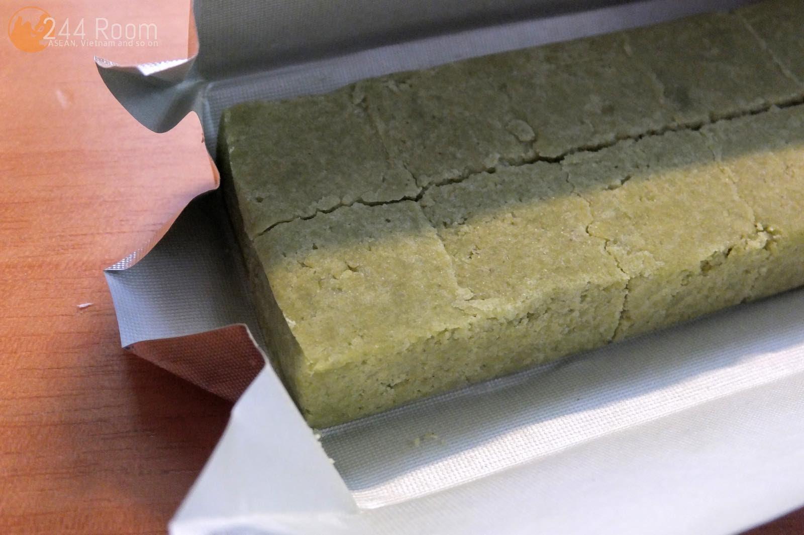 ベトナム緑豆菓子抹茶味 Green bean cake-green tea4