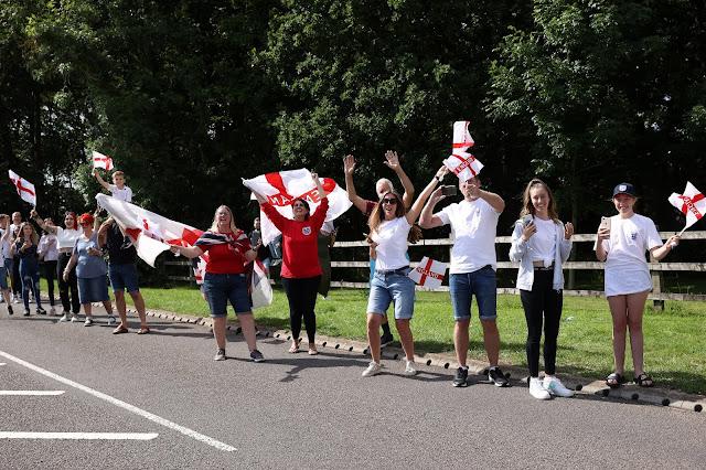 England fans photo
