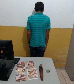 Homem é preso após estuprar rapaz de 15 anos na Paraíba