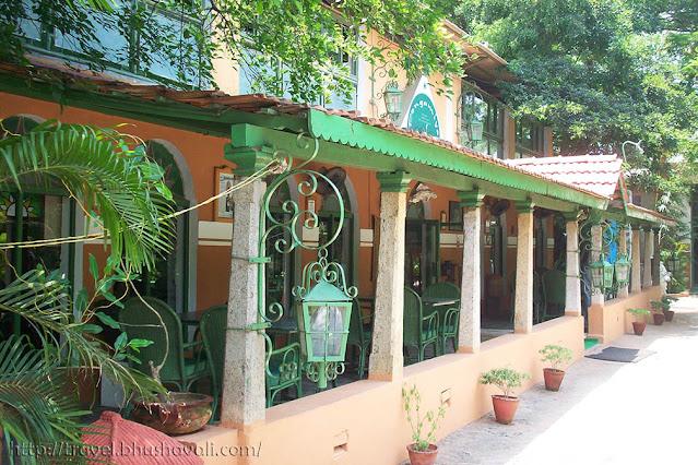 Pongamiya Best restaurants Mahabalipuram