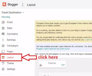 Steps forsetup Google FeedBurner to enable Email Subscriptions in blogger