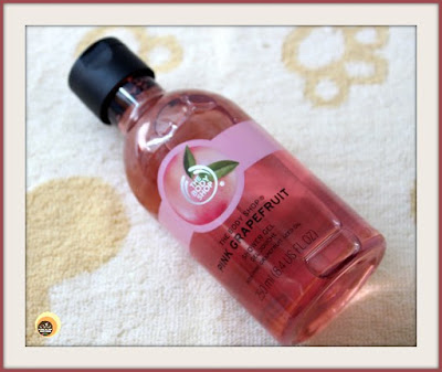 Refreshing Body Wash - The Body Shop Pink  Grapefruit Shower Gel Review