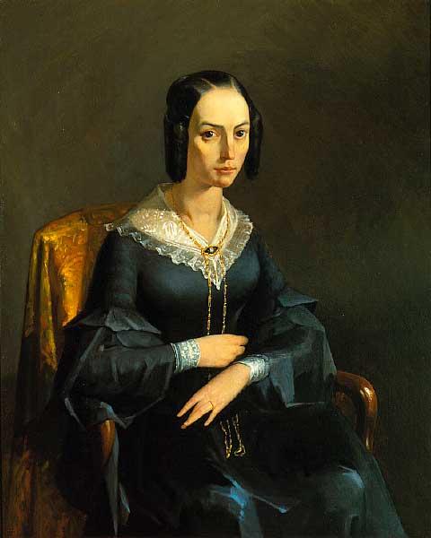 Жан Франсуа Милле - Графиня Вальмон. 1841