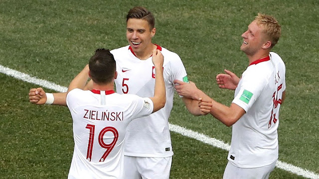 Jan Bednarek scored the only goal of the game Credit: Getty images