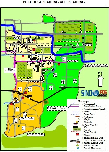 Profil Desa & Kelurahan, Desa Slahung Kecamatan Slahung Kabupaten Ponorogo