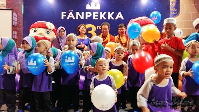FANPEKKA Malaysia Sambut Ulangtahun ke-3 dengan Program CSR Bersama Kanak-kanak