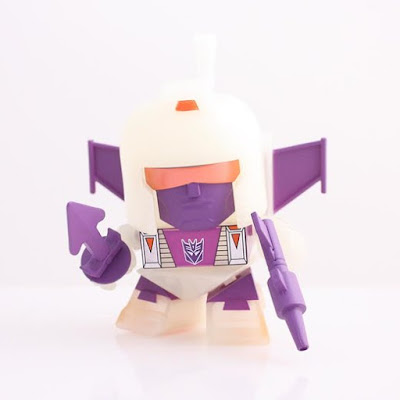 Hastings Exclusive Transformers Glow in the Dark Blitzwing Mini Vinyl Figure by The Loyal Subjects
