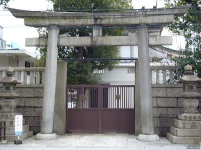 難波神社鳥居