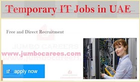 Information Technology Professional with MBA Job in Dubai | AED15000
