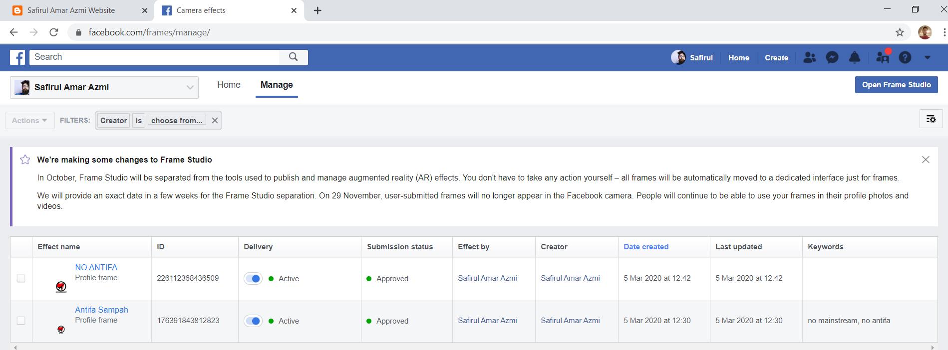 Cara Membuat Frame Di Gambar Profil Facebook