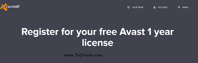 Avast 1 Year Free License Key