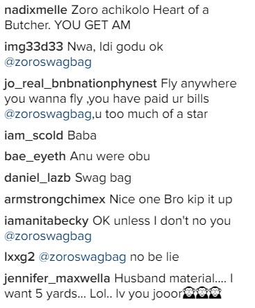 "Rapper Zoro Swagbag thinks he's ""husband material"""