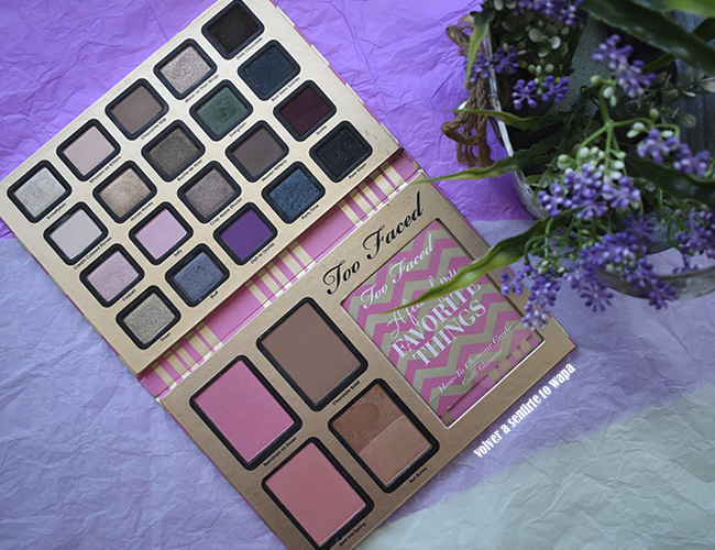 A few of my favorite things de Too Faced