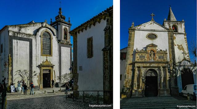 Igreja de São Pedro e Matriz de Santa Maria, Óbidos, Portugal