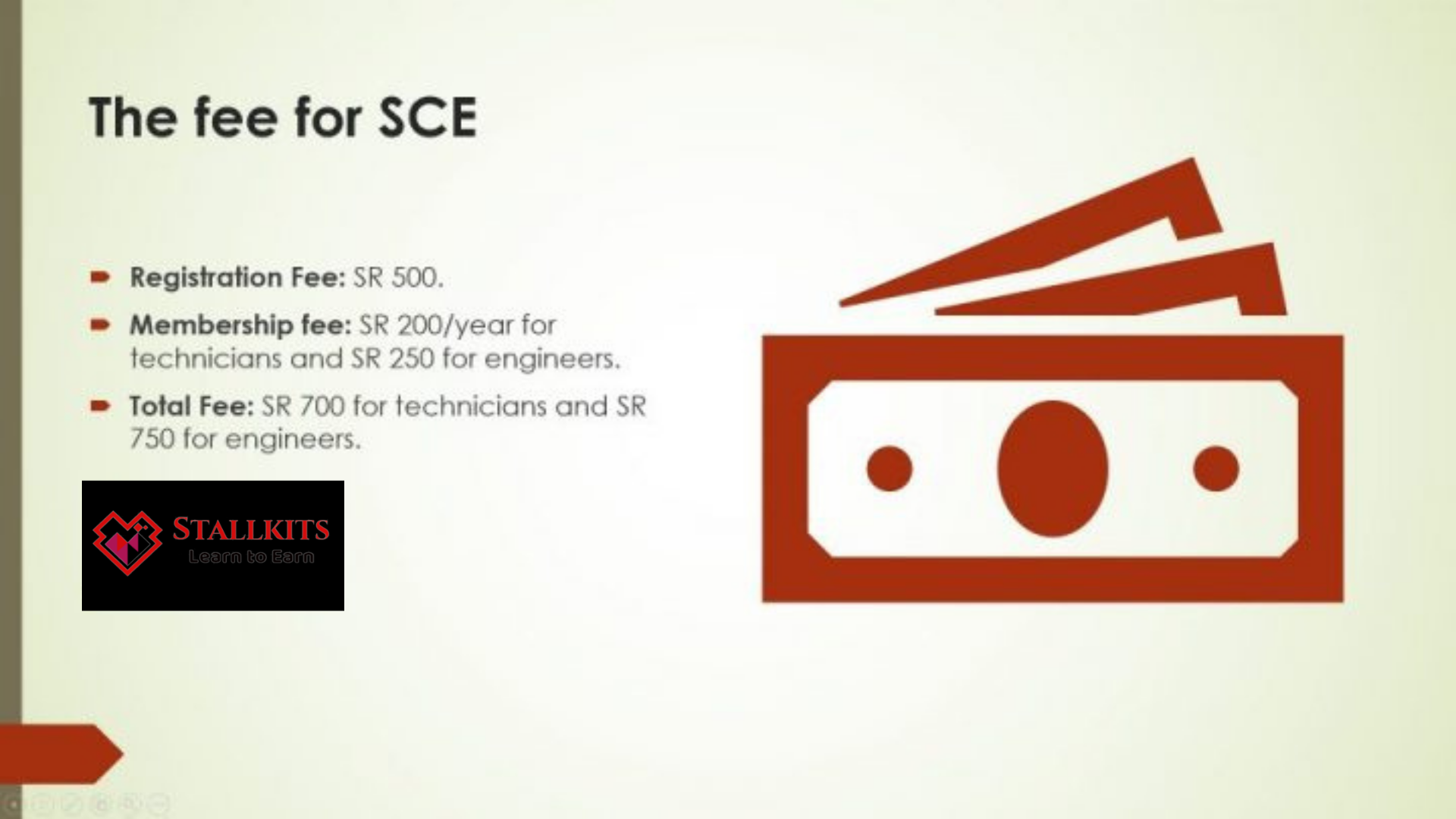 The Fee for SCE