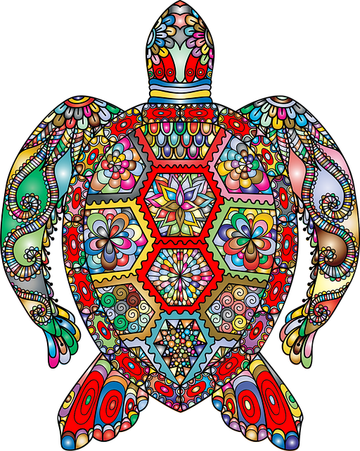 خلفيات فنية ملونة