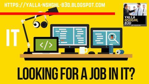 وظائف | IT Specialist