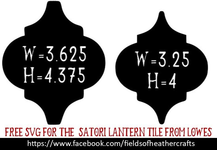 lantern tile ornaments free svgs