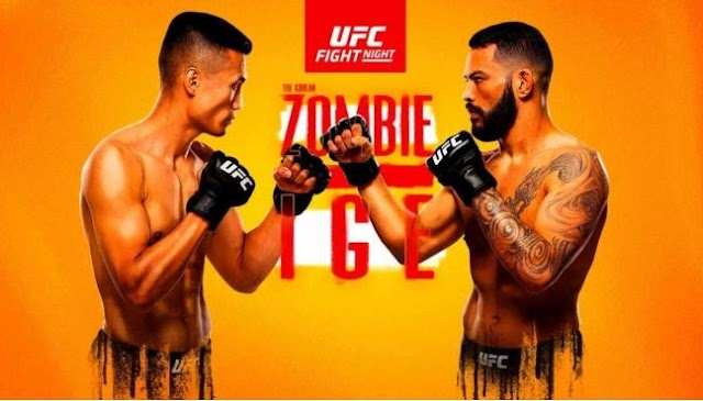 Watch UFC Fight Night Jung Vs Lge Live 6/19/2021 Live Stream and Reply