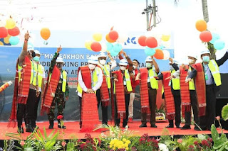 Pembangunan Penggantian Jembatan Aek Tano Ponggol Resmi Dimulai