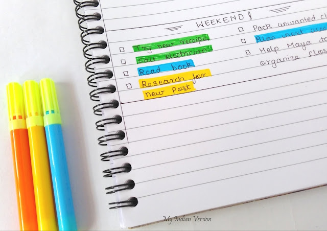 color-code-planner-using-highlighters-color-pens-sticky-notes-tabs-myindianversion-blog