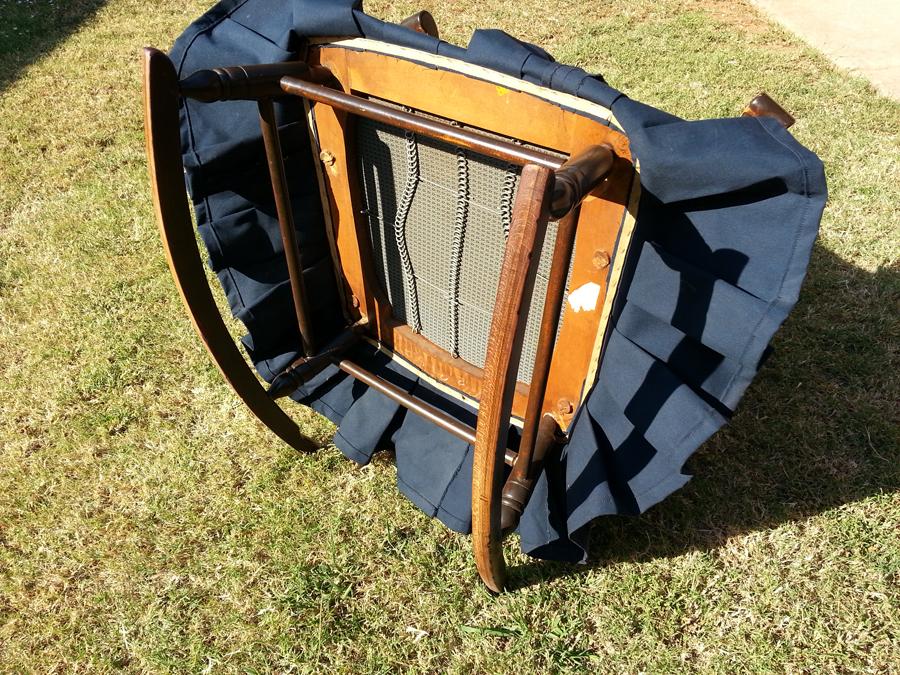 Antique platform glider rocking chair downtown oklahoma - Craigslist michiana farm and garden ...