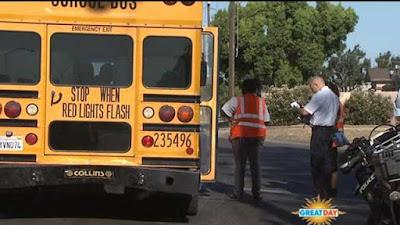 fresno drunk driver car crash school bus mckinley cornelia avenue