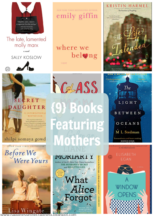 https://happinessinthecrapiness.blogspot.com/2019/05/9-books-featuring-mothers.html