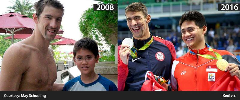 channel news asia reuters joseph schooling michael phelps