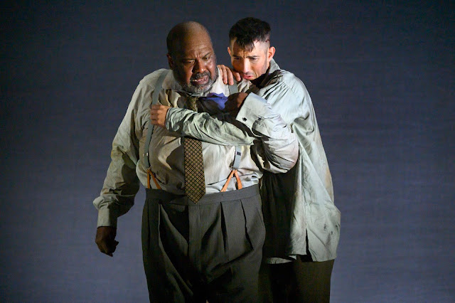 Weill: The Silverlake -  Ronald Samm, David Webb - English Touring Opera (photo Richard Hubert Smith)