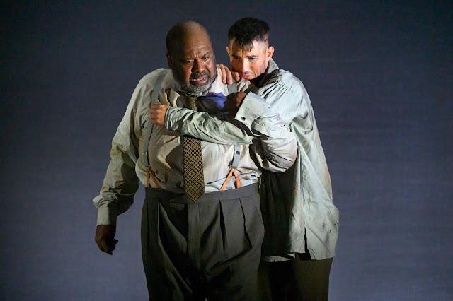 Weill: The Silverlake -  Ronald Samm, David Webb - English Touring Opera (photo Richard Hubert Smith)