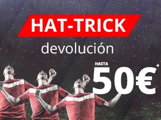 suertia Hat-trick liga santander devolucion 7-8 enero