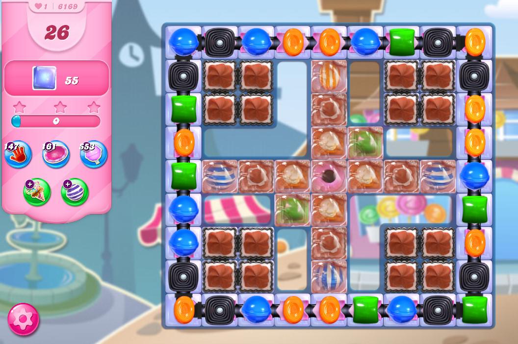 Candy Crush Saga level 6169