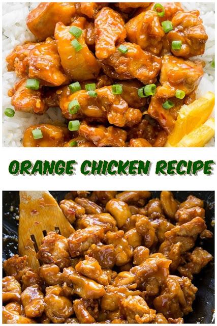 #Orange #Chicken #Recipe #crockpotrecipes #chickenbreastrecipes #easychickenrecipes #souprecipes