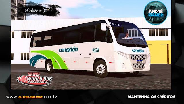 VOLARE W9 FLY - VIAÇÃO AUTOBUSES CONEXIÓN