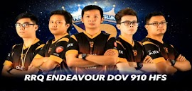 RRQ ENDEAVOUR DOV 910 HFS Jadi Tim Pemenang PBNC 2017