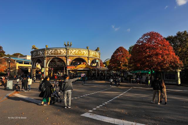 Công viên Everland Seoul - mùa Halloween