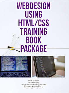 Webdesign using HTML/CSS Training For Nigeria