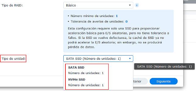 RAID EN CACHE SSD