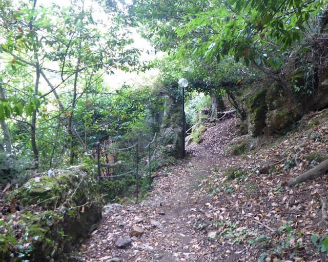 sentiero Valle Mulini Paraggi Portofino