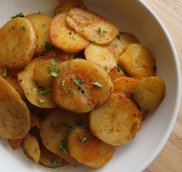 Paprika Browned Potatoes