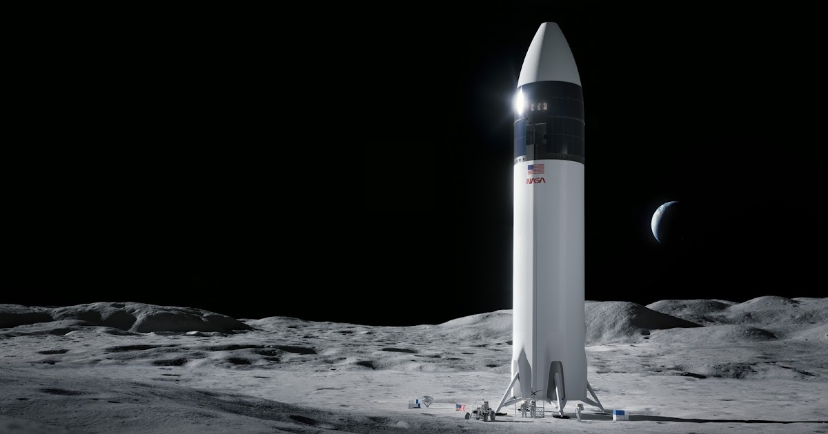 NASA selects SpaceX Lunar Starship to return humans to the Moon