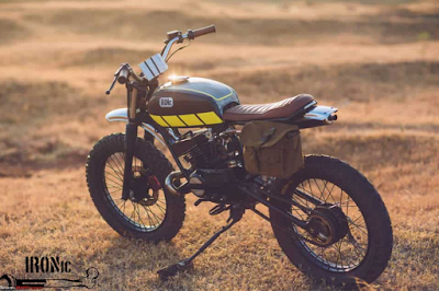 Modifikasi Scrambler Motor Rx King