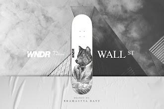 """WNDR 7th Series """"WALL STREET"""" Skateboard Deck"""