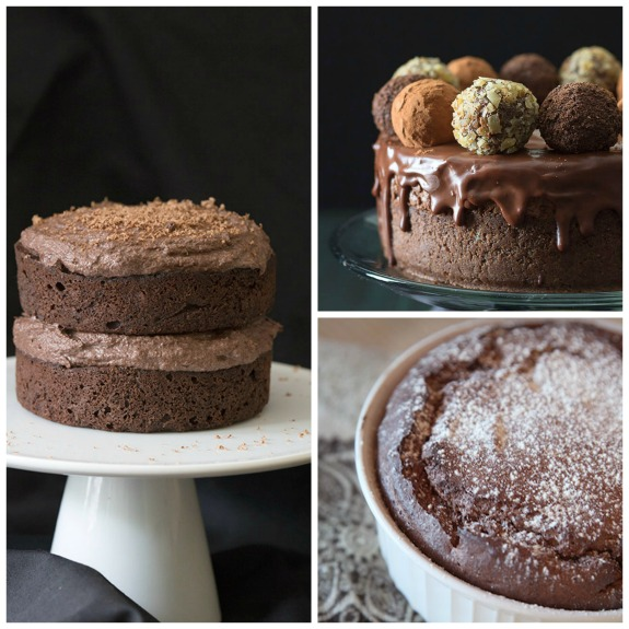 The BEST Low-Carb Chocolate Desserts featured for Low-Carb Recipe Love on KalynsKitchen.com