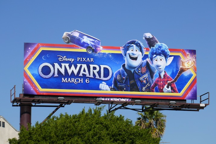 Onward film billboard