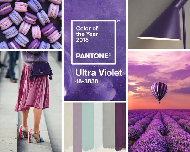 ultraviolet color of the year